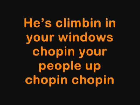 Annoying Orange - Kitchen Intruder Song  (Lyrics)