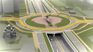 Реконструкция Московского шоссе Самара Презентация(Министерство транспорта и автомобильных дорог Самарской области представило 3D-презентацию реконструкции..., 2015-10-07T08:14:31.000Z)