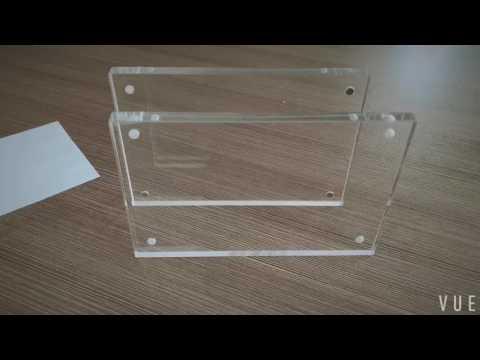 Wholesale Acrylic Magnet Photo Frame