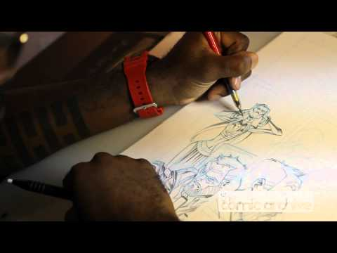 Artist Khary Randolph Talks About His Daily Routine