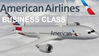 American Airlines Business Class Tokyo Haneda to Los Angeles Boeing 787-8 Dreamliner Review