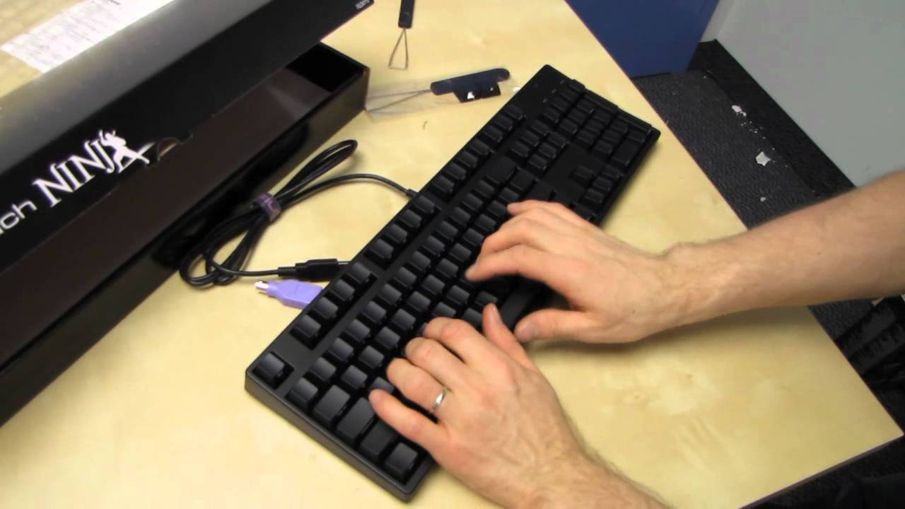 Filco Majestouch Ninja Cherry MX Brown Mechanical Keyboard Unboxing & First Look Linus Tech Tips - YouTube