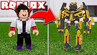 I TURNED A TRANSFORMERS 6 ROBOT INTO ROBLOX