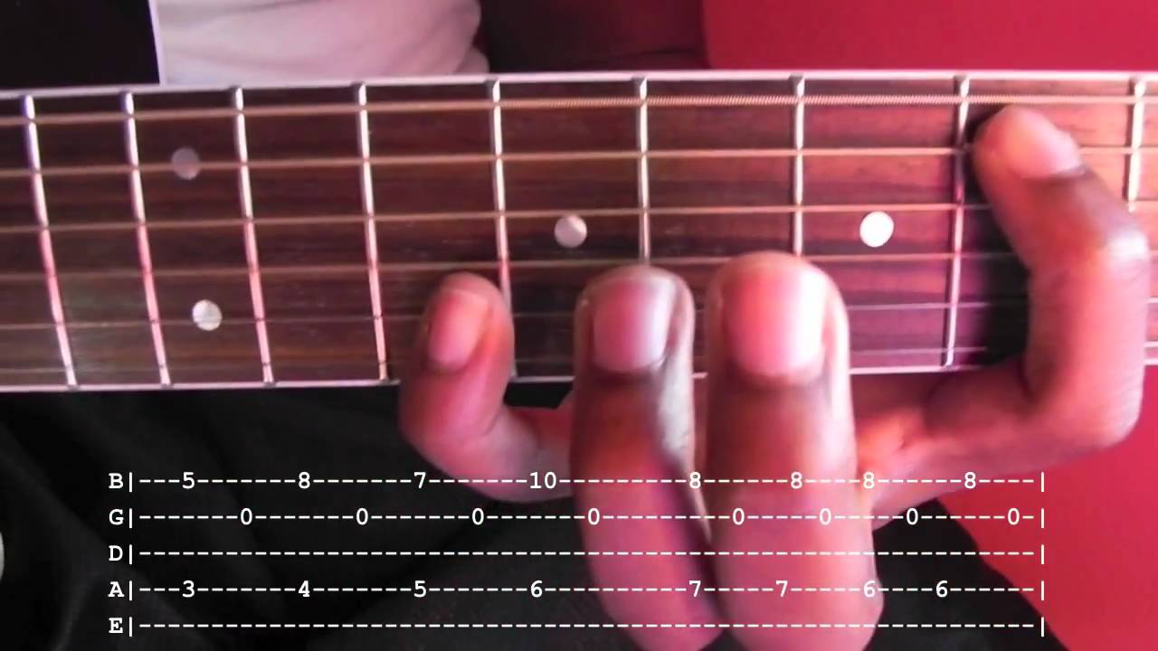 Blackbird Fingerstyle Guitar Lesson With Tab Youtube