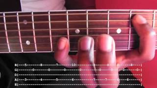 BlackBird (Fingerstyle) Guitar Lesson With Tab