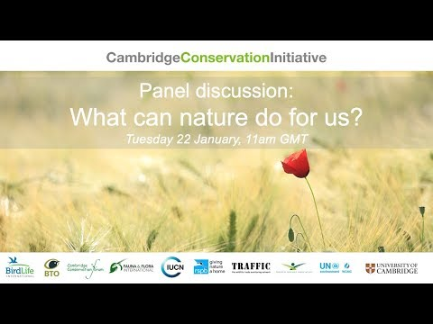 What can nature do for us?