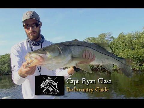 Captains Tales Episode 41 Capt Ryan Clase - BIG Creek Snook