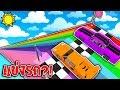 """ถ้าเกิดแข่งรถกัน จากชั้น """"9,999,999 ชั้น"""" จะเป็นอย่างไร? (Minecraft Racing Mod)"""