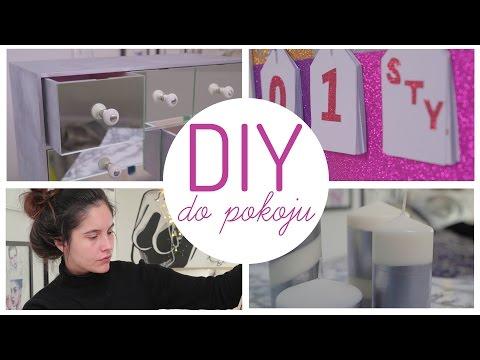 DIY: OZDOBY DO POKOJU