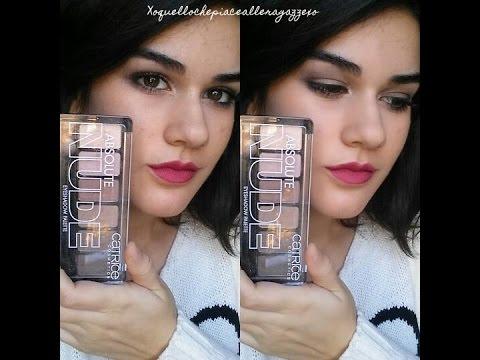 Smokey eyes catrice cosmetics review one brand makeup tutorial.