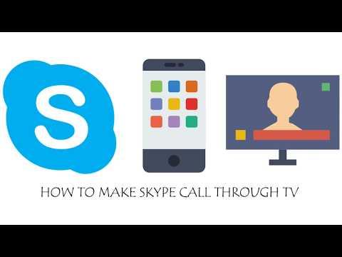 Skype Video Calling through TV