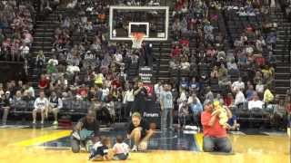 Infie 500 Diaper Derby - Baby Crawling Race - Memphis Grizzlies Half Time Event - March 18th, 2012