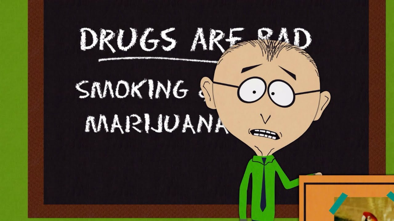 Patch NEW UNUSED South Park TV Series Mr Mackey Saying Drugs Are Bad MMMKAY