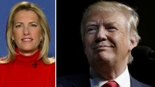 Laura Ingraham reacts to Trump