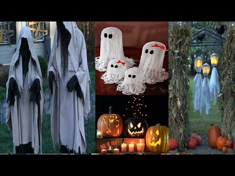 DIY Halloween decor /  easy craft ideas for halloween / cute halloween decorations