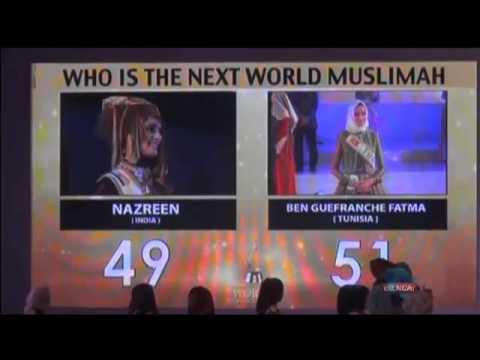 Tunisian wins Islamic pageant