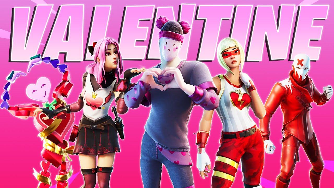 Fortnite Valentine Skins