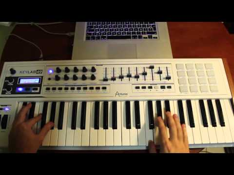 Martin Garrix ft. John & Michel - Now That I've Found You/Don't Crack Under Pressure (Tuto Piano)