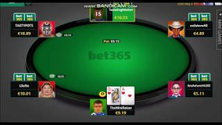 Online poker players and bots the site also places its own on tables to incite rake. just look at some of rubbish in these few hands played. s...