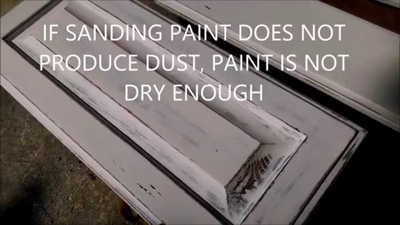 HOW TO MAKE CREATE FADED ANTIQUE LOOK ON CABINETS - HOW TO MAKE CREATE FADED ANTIQUE LOOK ON CABINETS - YouTube