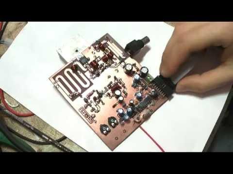 FM TRANSMITTER 87 108Mhz rd15hvf1  prototipe pcb   YouTube
