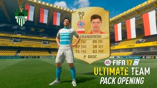 90 RATED WALK OUT LEWANDOWSKI IN A PACK! | FIFA 17 - PACK OPENING!