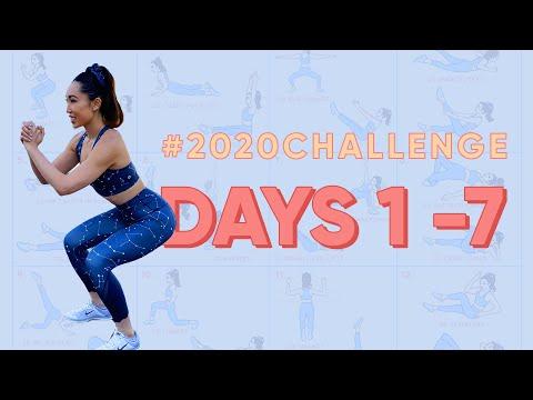 Days 1 7   2020 Challenge
