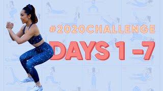 Days 1 - 7 | 2020 Challenge