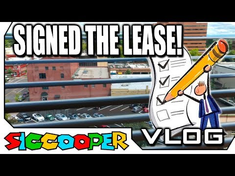 I SIGNED THE LEASE FOR THE GAME STORE! | SicCooper