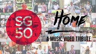 "Everyday Singaporeans Sing ""Home"" by Kit Chan (SG50 MV Cover)"