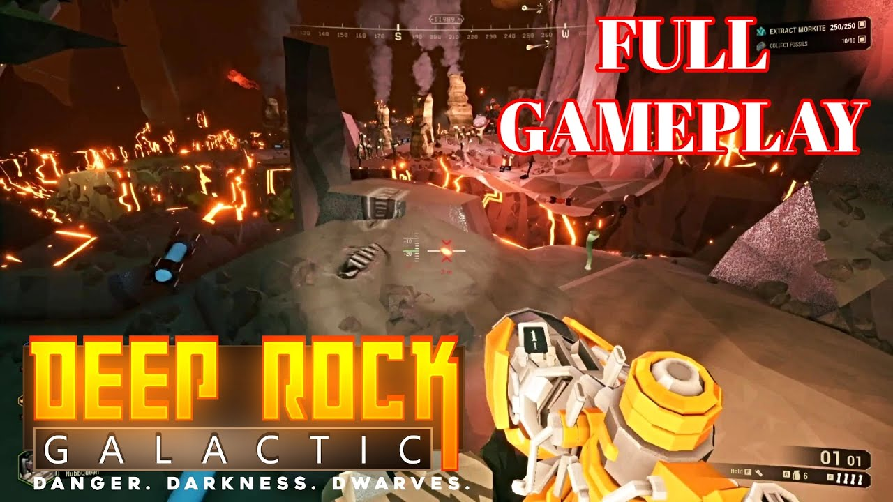 Download PLAYING DEEP ROCK GALACTIC THE FIRST TIME   NUBBQUEEN