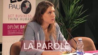 ESC Pau x Adèle Van Reeth - La Parole