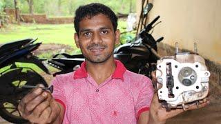Motorcycles cylinder Head Repairing