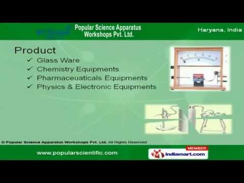 Physics Lab Equipments By Popular Science Apparatus Workshops Private Limited, Ambala