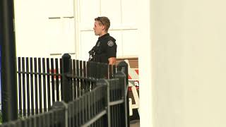 JUST IN: Police presence around White House