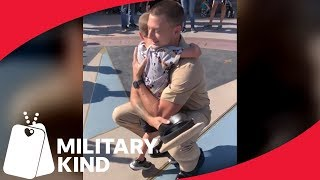 Navy dad makes trip to Disney even more magical for son