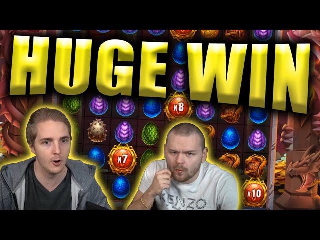 HUGE WIN on DRAGONFALL - Casino Slots Big Wins
