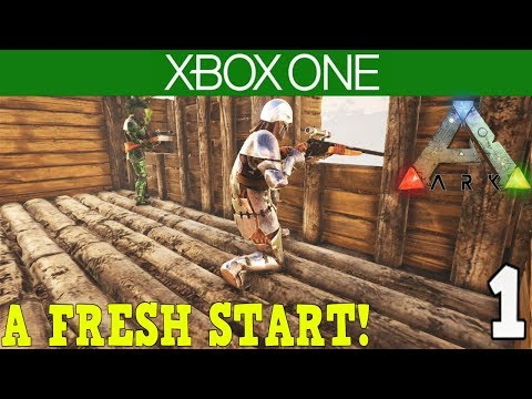 ARK:Survival Evolved - XBOX ONE OFFICIAL PVP SERVER - A FRESH START! [ 1 ]