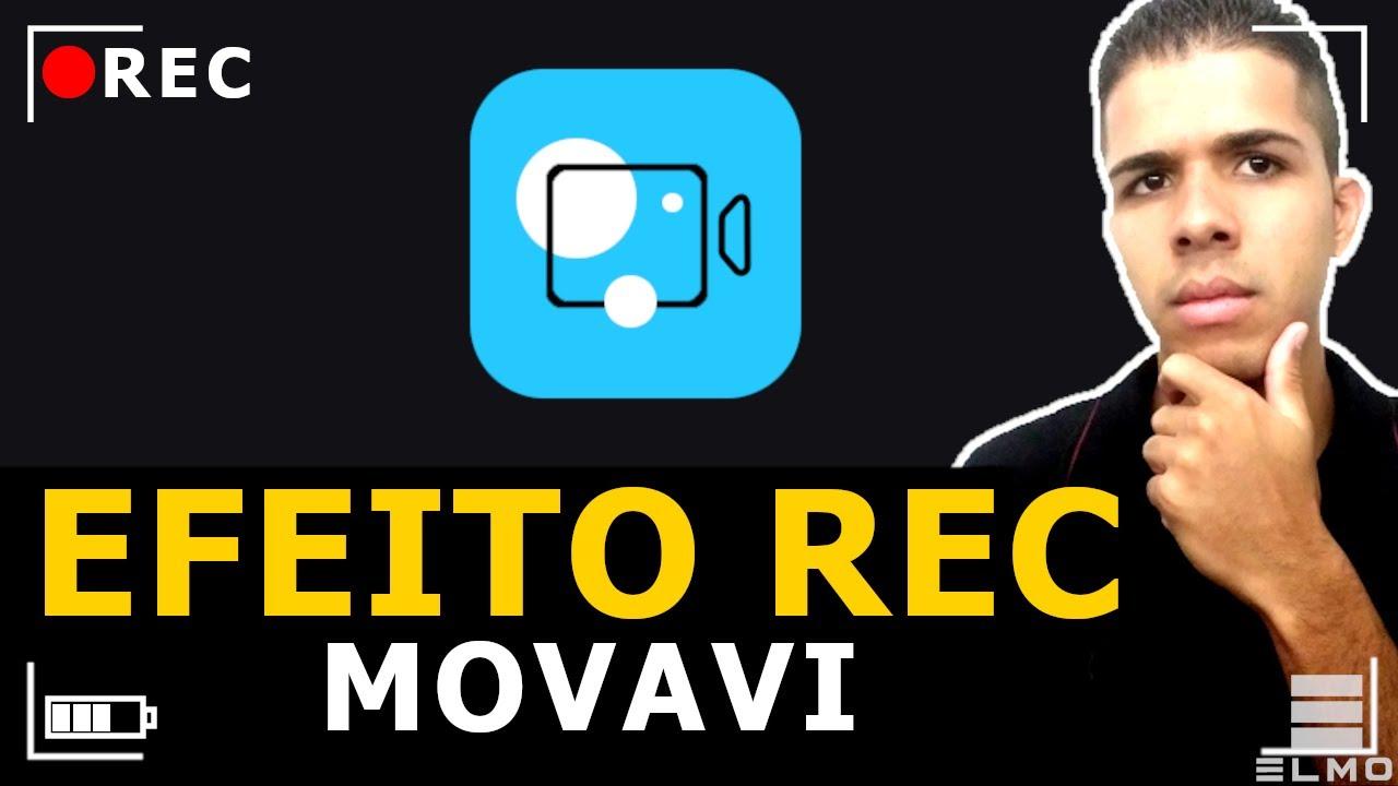Como fazer efeito REC/Gravando no Movavi Video Editor Plus - Elmo