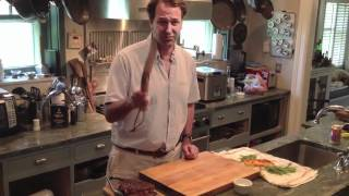 Opensky: Michael Ruhlman Demos The Opinel No. 13  - Not Your Average Knife!