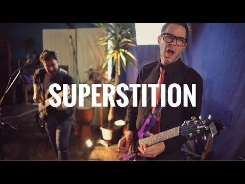 Martin Miller & Paul Gilbert - Superstition (Stevie Wonder Cover) - Live in Studio