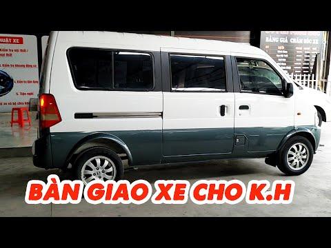 Bàn giao xe Dongfeng Minibus 7 chỗ cho anh Dũng Đắk Lắk đã tin tưởng cọc xe từ xa | Thành Auto