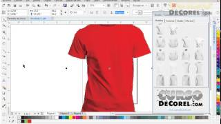 Camisetas en Corel Draw X7