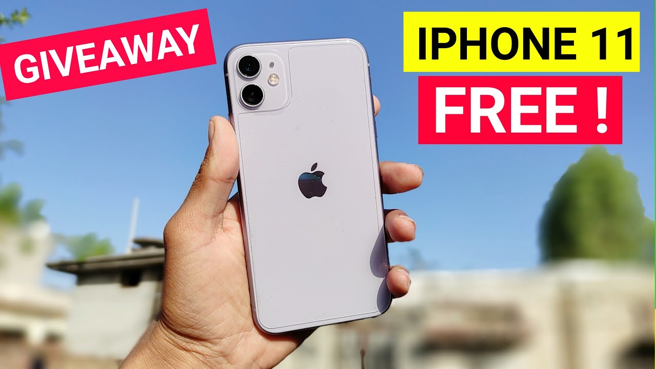 Download Iphone 11 Giveaway | Iphone 11 In 2021 & Iphone 11 Review In Hindi 2021