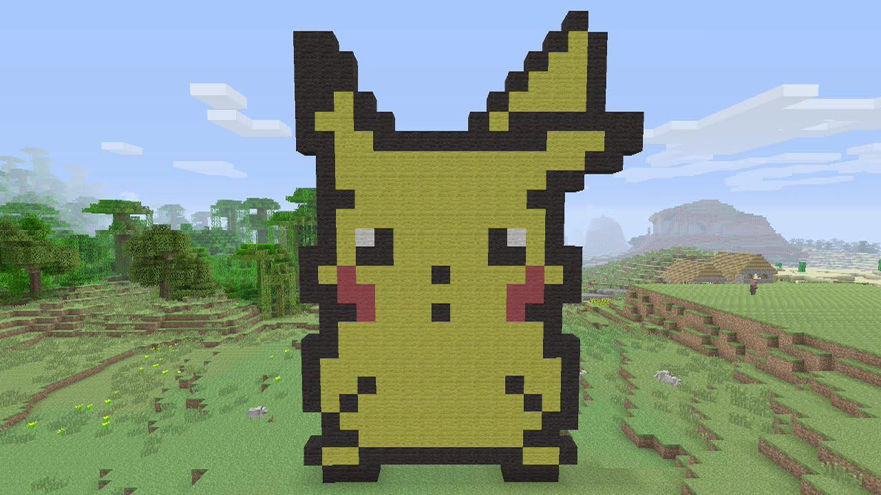 Creating A Pixel Art With Grid Cute Animals Background @KoolGadgetz.com