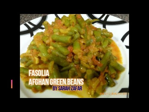 how to cook afghan beans
