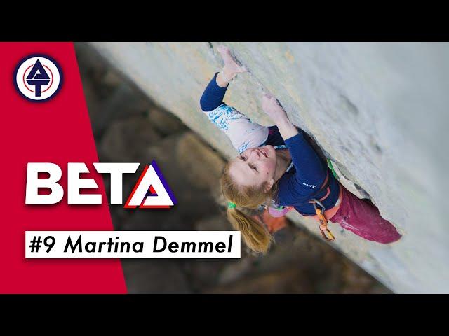 Shooting-Star der Kletterszene Martina Demmel im Interview  / BETA 9