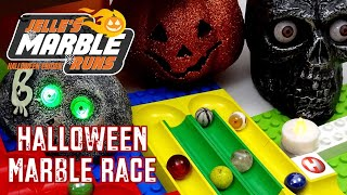 Halloween Marble Race 3 with Hubelino Tower- Jelle's Marble Runs