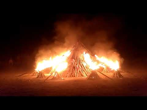 Prosesi api unggun terbaik SMPN 3 LEUWIMUNDING 2018,Nidda, dkk