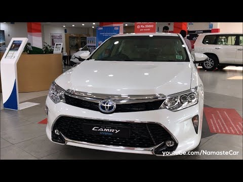 Toyota Camry Hybrid XV50 2017 Real life review